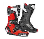 Sidi Mag-1 Air Red Fluo Black Motorcycle Boots 46