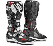 Sidi Crossfire 2 SRS Black White Motorcycle Boots 42