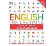 Book English for Everyone: Level 1: Beginner, Course Book: A Complete Self-Study Program