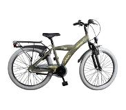 Bike Fun Camouflage 20 Inch 33 cm Boys 3SP Coaster Brake Army Green(Wheel size 20 Inch)