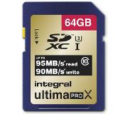 Integral SDXC 64GB Class 10 flash-muisti Luokan 10 UHS-I