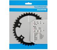 Shimano 105 chainring 11-speed 39T BCD110 black
