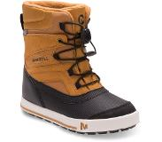 Merrell Snow Bank 2.0 Waterproof Saappaat Lapset, wheat/black