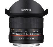 Samyang 12mm F2.8 ED AS NCS SLR Musta