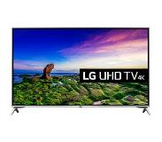 "LG 65UJ651V LED-televisio 165,1 cm (65"") 4K Ultra HD Smart TV Wi-Fi Musta, Hopea"