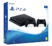 SCEE PlayStation 4 Slim 1 TB (PS4) + 2x DualShock