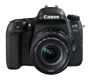 Canon EOS 77D + 18-55mm IS STM obj.