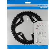 Shimano Trekking FC-T521 Chainring 10-speed, black 32T 2020 Eturattaat