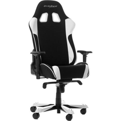 DXRacer King - Pelituoli - Valkoinen Musta