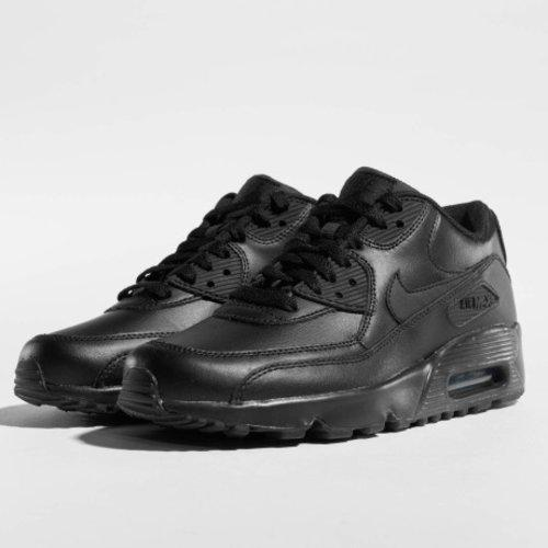 release date bd4f2 c46bb Nike   Air Max 90 Leather (GS) Tennarit   musta last.