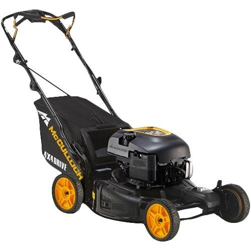 Stand Behind Lawn Mower >> Mcculloch M56 190apx 4x4 Walk Behind Lawn Mower Bens