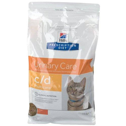 Cat Supplies Hills Prescription Feline C/d Chicken 12 X 85gm Multicare Pouches Urinary Diet F Pet Supplies