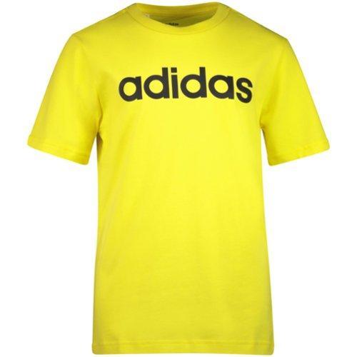 koko 7 Tarkista vapaa ajan kenkiä Adidas Essential Linear T-shirt, nuorten T-paita las...