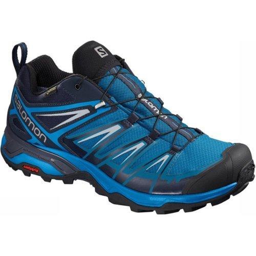 Salomon X Ultra 3 GTX kengät Miehet, mykonos blueindigo buntingpearl blue UK 7 | EU 40 23 2019 Kevyet vaelluskengät