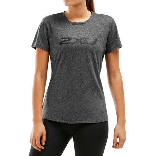 Yhdysvallat kuuma myynti valtava inventaario 2xu XCTRL Womens - T-paita - Charcoal Marle/Black - XS