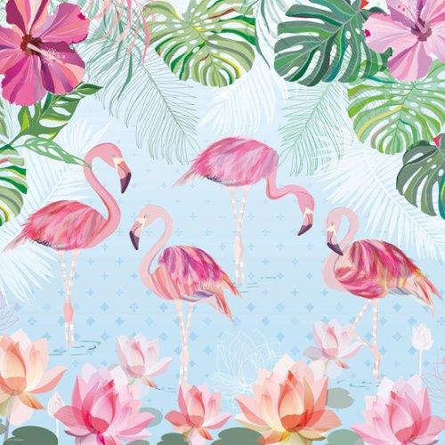 Les Deglingos Flamingos The Flamingo SkallraPurulelu